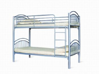 Lynton 3FT Single Metal Bunk Bed; Splits into 2 Beds